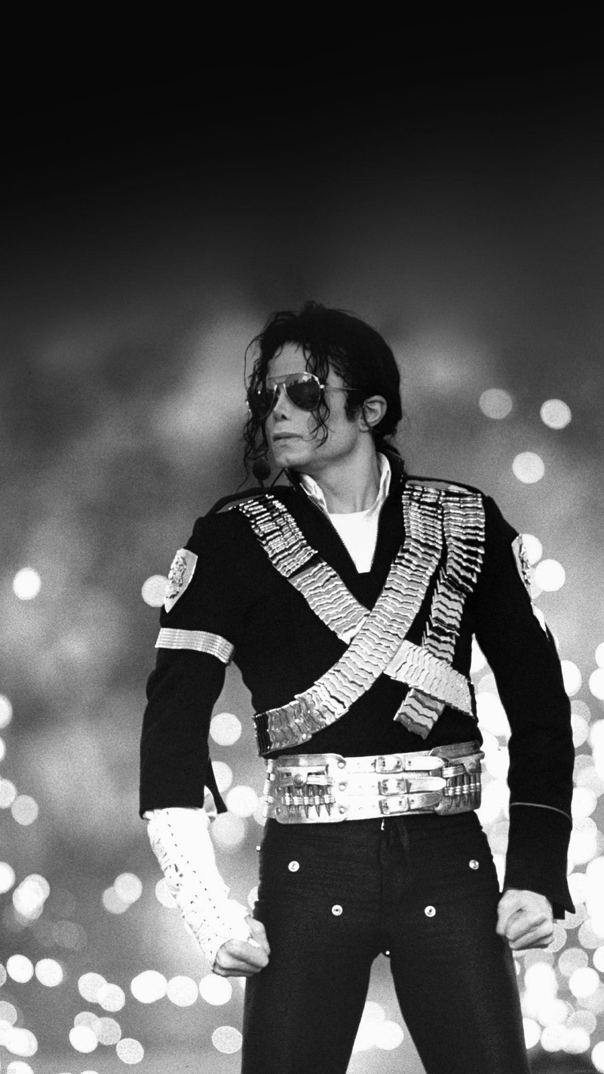 Michael Jackson Pop Black And White Concert