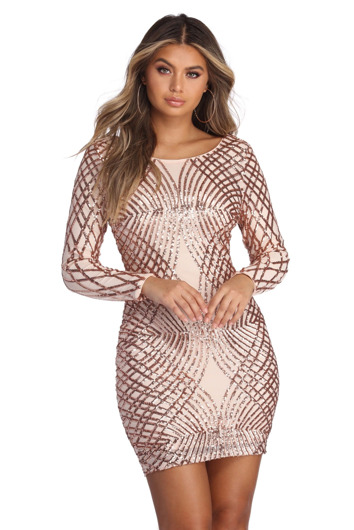 52c120b9ead Elysse Steal The Show Sequin Dress - Windsor (Tried this on at the mall
