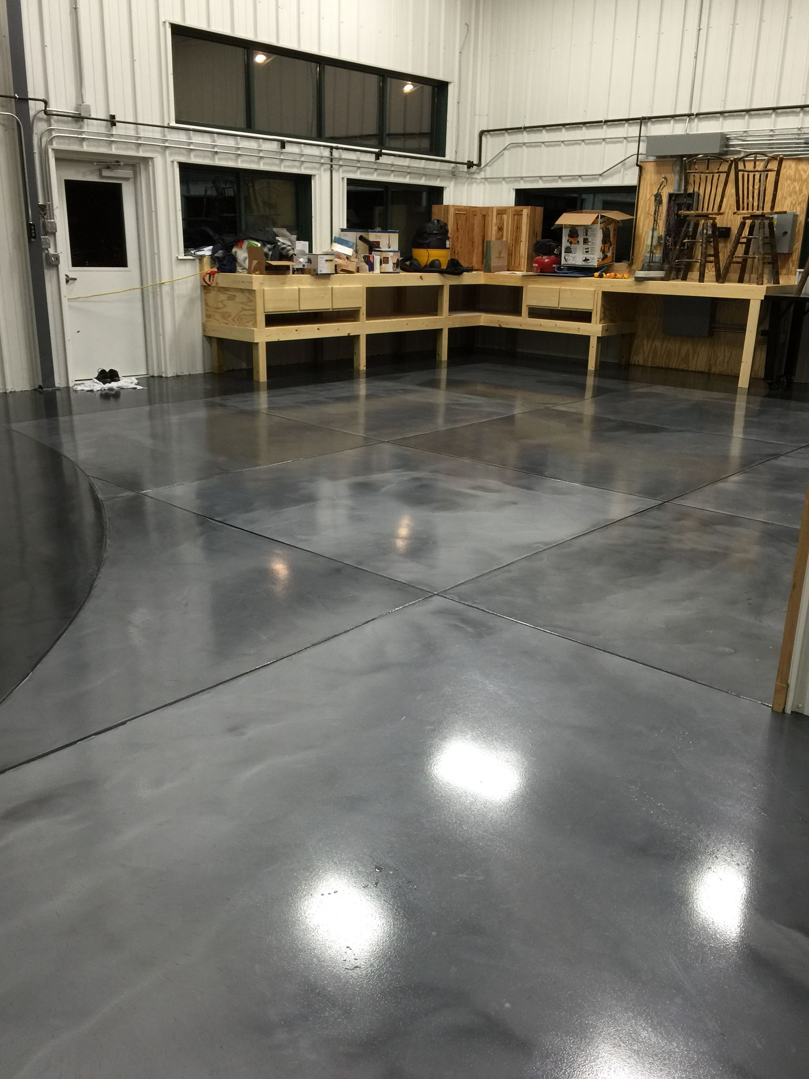 solutions floors floor metallic epoxy concrete flooring metalic