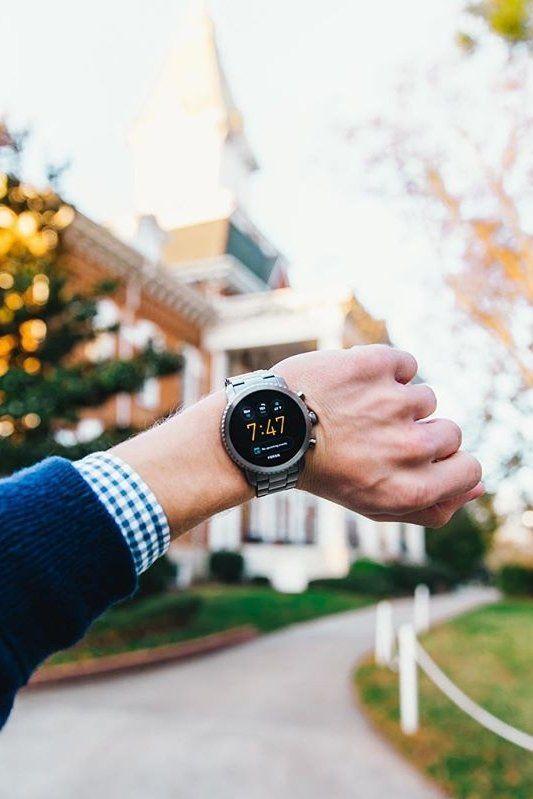 Gen 3 Smartwatch Explorist Smoke Stainless Steel Smart Watch Smoke Touch Screen