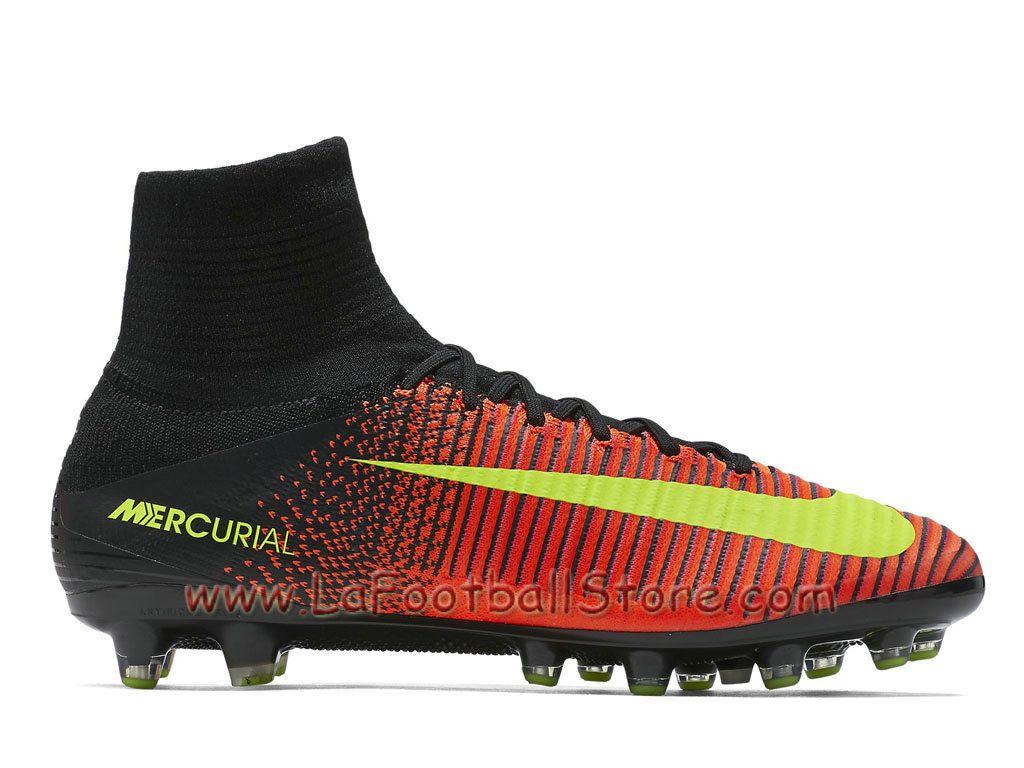 new arrival 45944 b03c0 Nike Mercurial Superfly V AG-PRO 831955 870 Chaussure de football à  crampons pour terrain synthétique