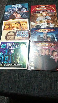 Job lot of #newspaper promo #audio book cds & dvds all doctor who  #(lotg),  View more on the LINK: 	http://www.zeppy.io/product/gb/2/131705547706/