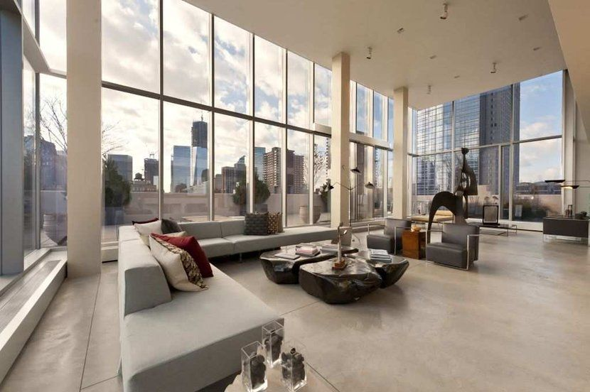 Modern loft Tribeca New York | Lofty Ambitions in The Big Apple ...