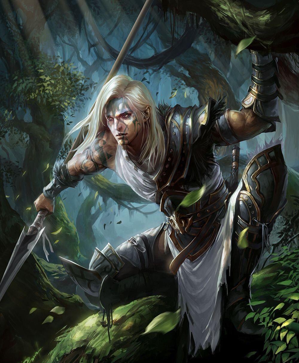 Elf Ranger | Fantasy concept art, Fantasy characters, Fantasy art