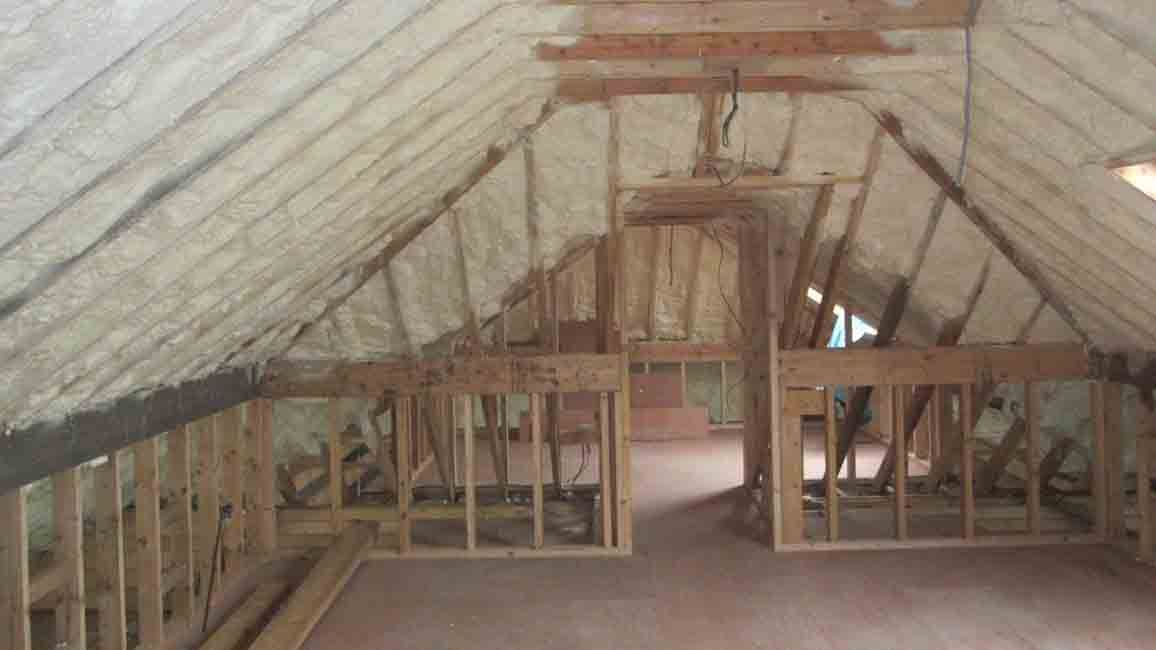 Roof Insulation Spray Foam Insulation Irlenad Roof Insulation Spray Foam Spray Insulation