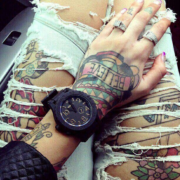 Girl & Ink