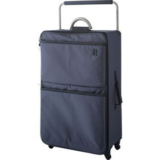 Buy IT World's Lightest Large 4 Wheel Suitcase - Charcoal at Argos ...