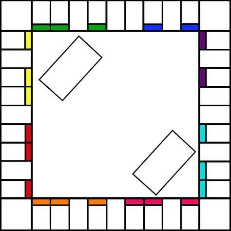 Blank Monopoly Baord By Sumomogirl01 Png 600 600 Make Your Own Monopoly Board Game Template Monopoly Board