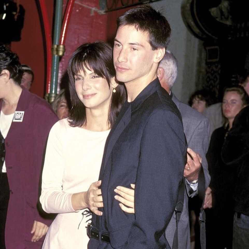 Pin by Crystal Mayo on Keanu Keanu reeves sandra bullock
