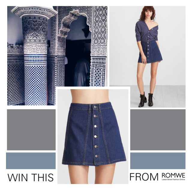 """""""NEW CONTEST ! Link in description"""" by pinki1994 ❤ liked on Polyvore featuring romwe"""