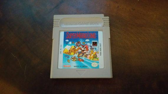 Super Mario Land (Game Boy) - DustyGlove on Etsy