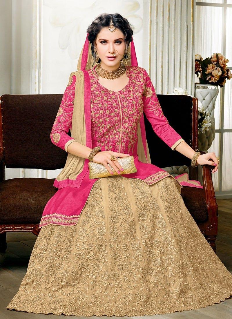 Royal blue n yellow dress  Majestic Maroon and Ivory Lovely Lehenga Kameez  Arabie et Inde