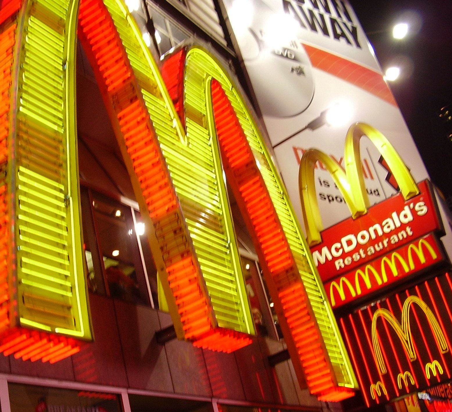 McDonald`s. At Times Square. 1962