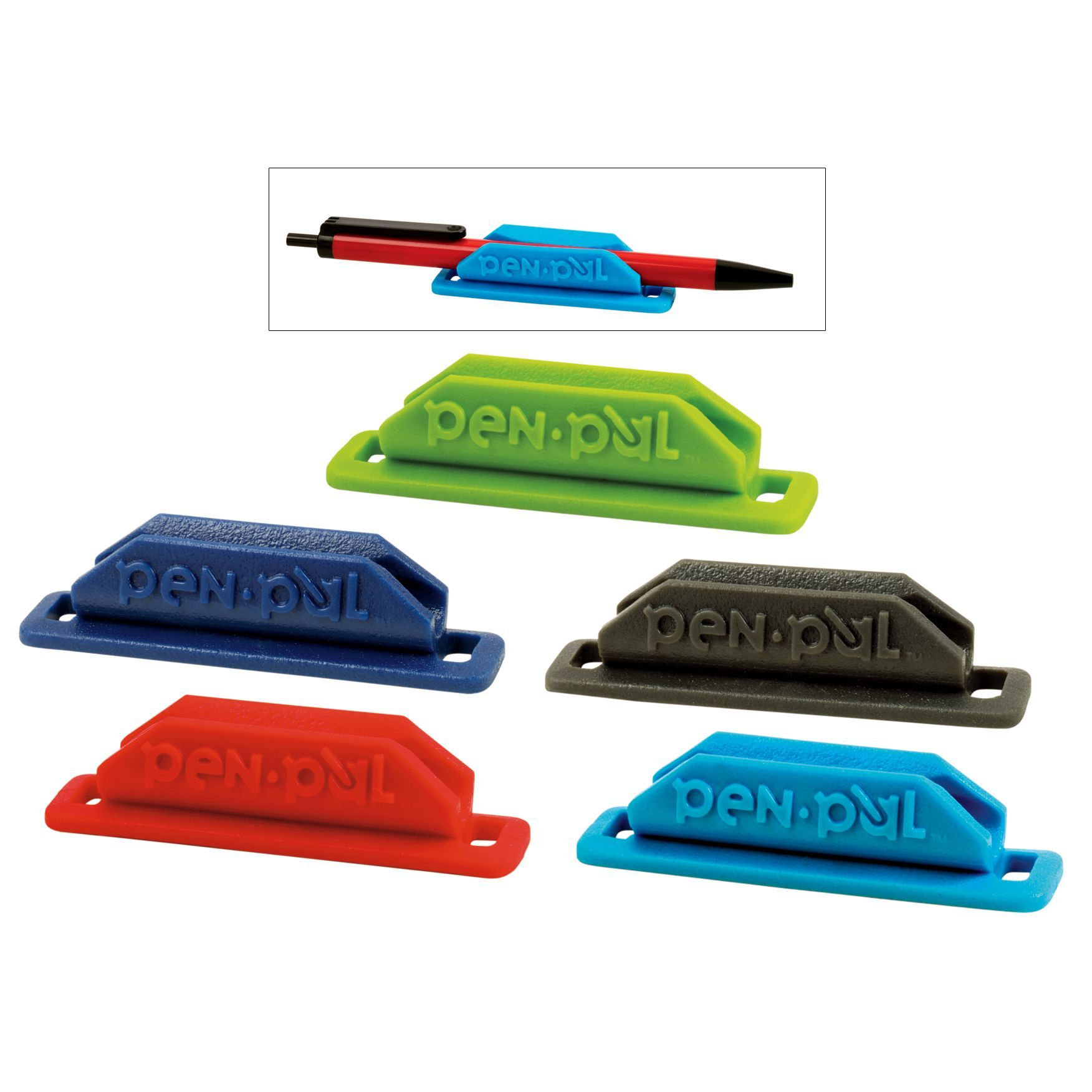 Pen Holders For Cars Tops Penpal Bp2 2 Count Assorted Pen Pal Holder Car