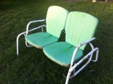 Vintage Metal Lawn Chairs Old Fashioned Google Search
