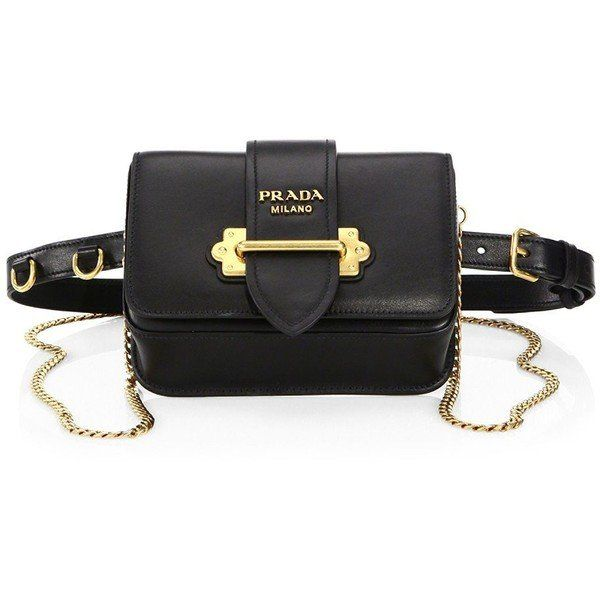 c98999749c26 Prada Marsupio Leather Belt Bag | pi ju | Bags, Leather belt bag ...