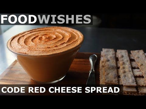 Food wishes video recipes code red cheese spread and a hot pepper code red cheese spread hot pepper challenge for als forumfinder Image collections