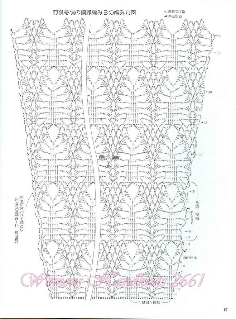 moda china - LA CASITA DE MABELY - Gabitos | patrones crochet ...