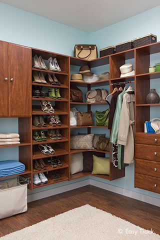 Closet organizers custom closet systems by easy track menards