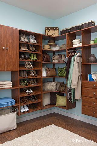 Charming Closet Organizers | Custom Closet Systems By Easy Track Menards