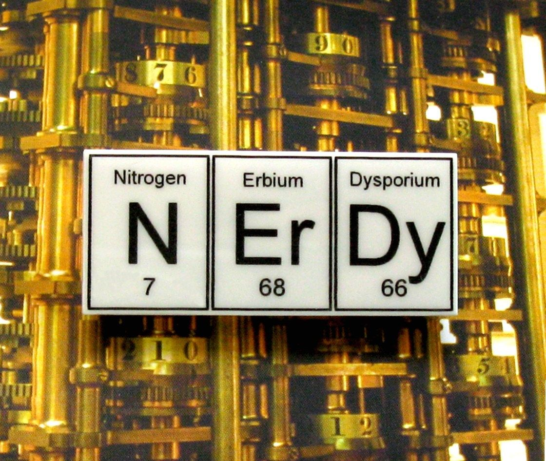 N er dy periodic table inspired brooch my style pinterest n er dy periodic table inspired brooch by wendyjnz on etsy gamestrikefo Image collections