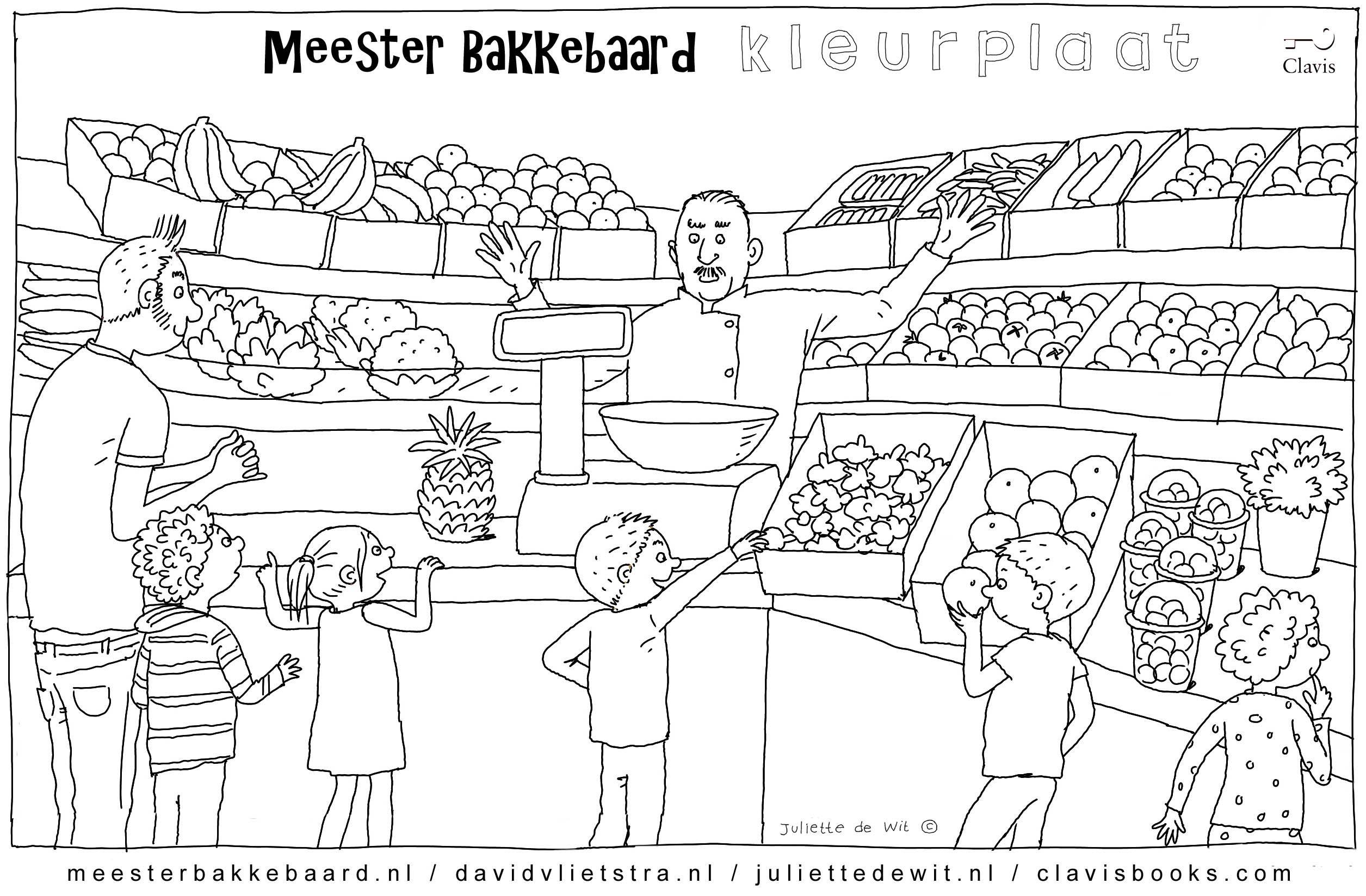 Fris Kleurplaten Van Fruit En Groenten