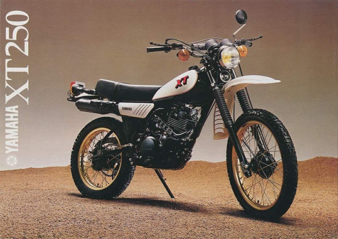 Yamaha Xt250 Yamaha Vintage Motorcycles Classic Motorcycles