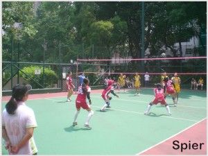 How To Construct A Volleyball Court Spier Outdoor Sports Court Sports Court Flooring Court