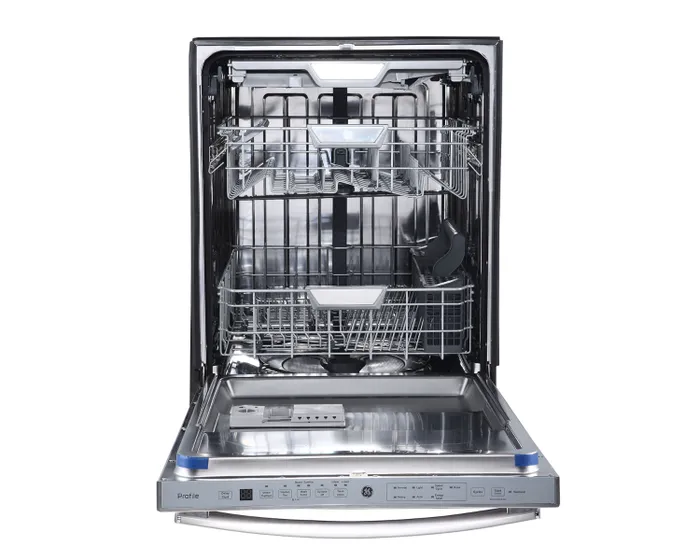 Ge Profile 24 Inch Built In Dishwasher In Stainless Steel