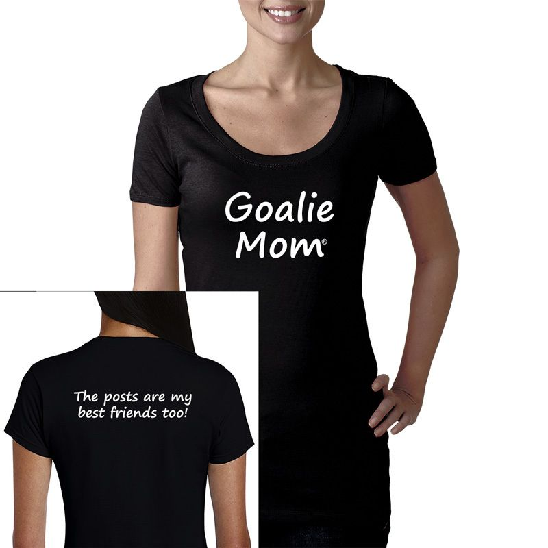 Women S Goalie Mom Posts Are My Best Friends Tee Shirt Friends Tee Lacrosse Mom Tee Shirts