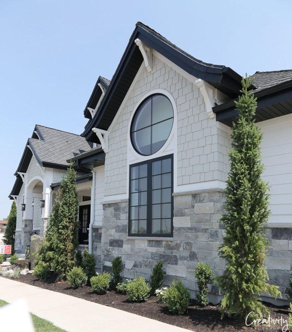 45 Top Modern Farmhouse Exterior Design Maison Exterieure