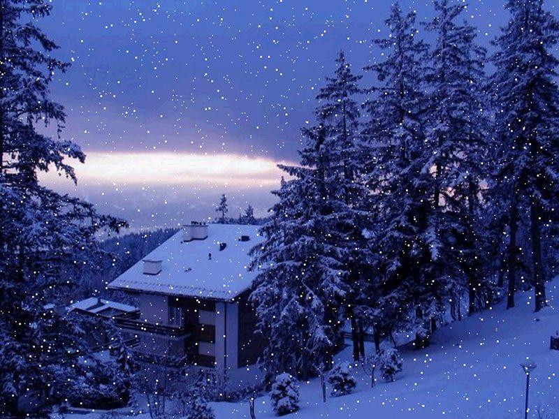 Wallpapers Snowfall Screensavers Beautiful Winter Scenes Snowfall Wallpaper Winter Scenery