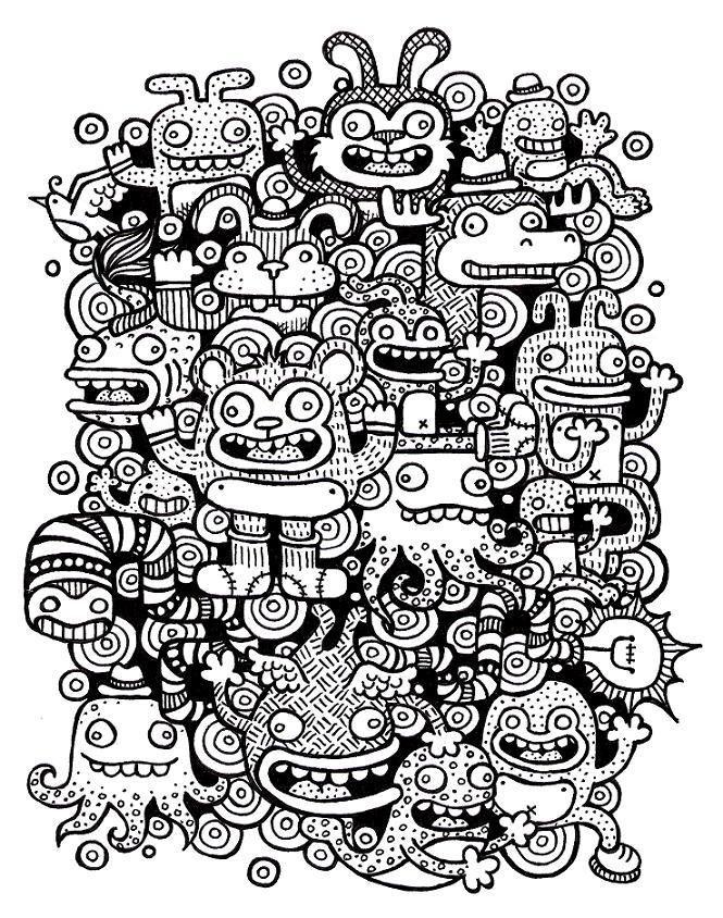 Doughnut Doodles By ArtByAlexChiu On DeviantART