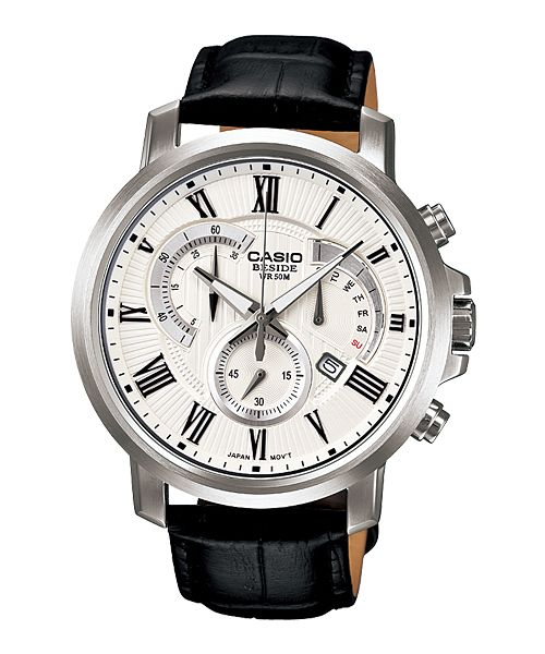 Reloj Casio Sr Beside Mens Watches Leather Watches For Men Chronograph Watch