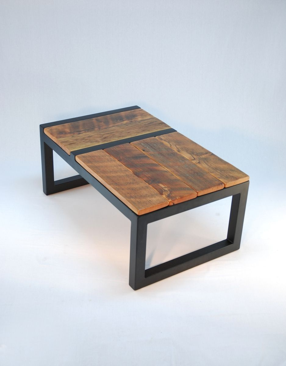 Couchtisch Coylin Custom Made Domino Coffee Table Modern Barnwood Furniture In