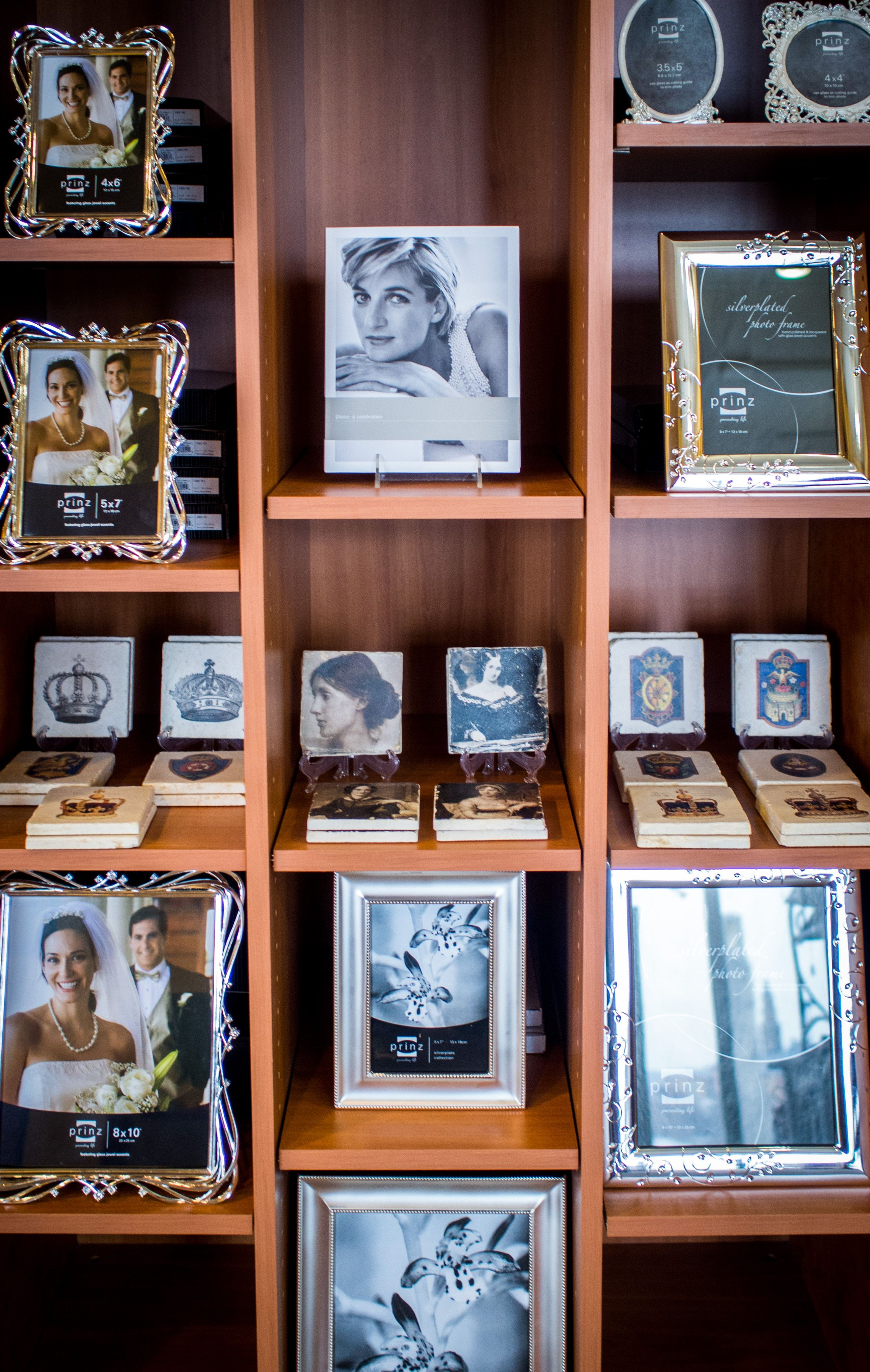 These photo frames are fit for a princess! #CelebrateDiana and put ...