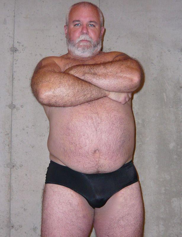 ass bear Hairy daddy