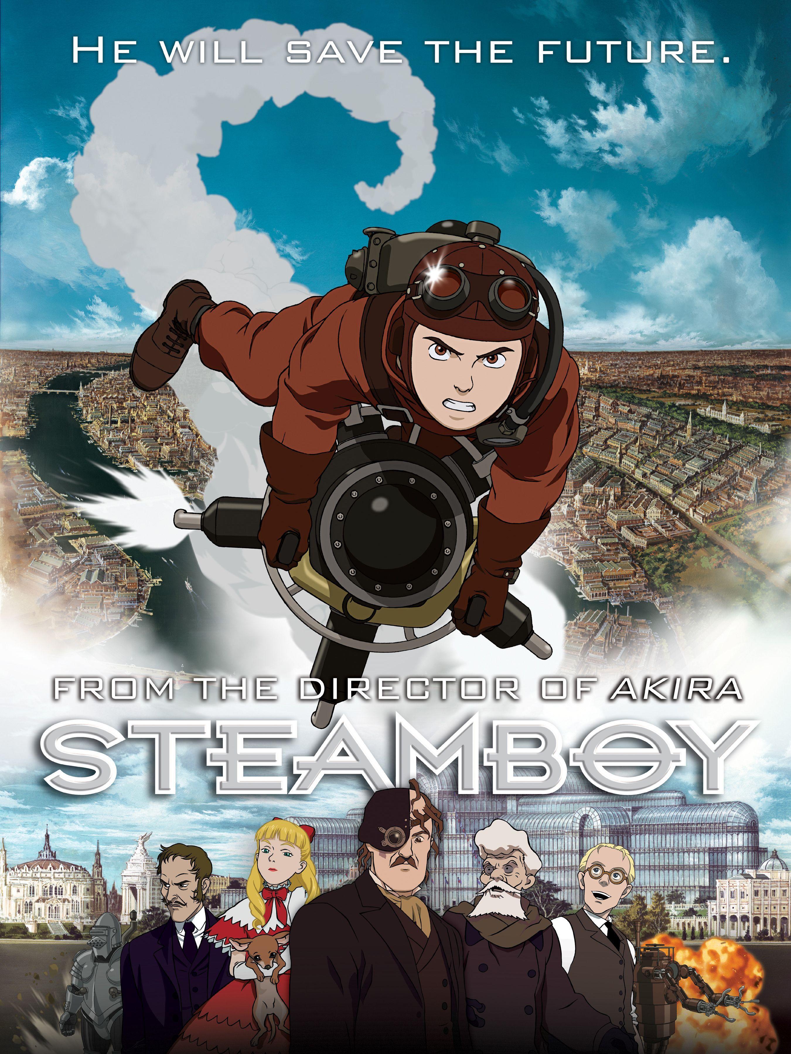 Steamboy Movie Review Steampunk movies, Anime movies