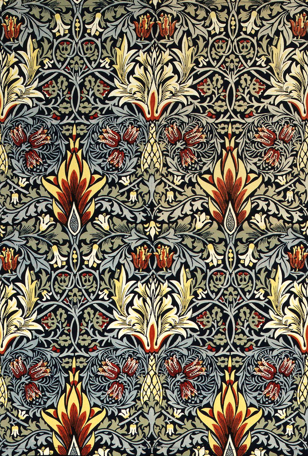 William Morris Floral Pattern. William morris patterns