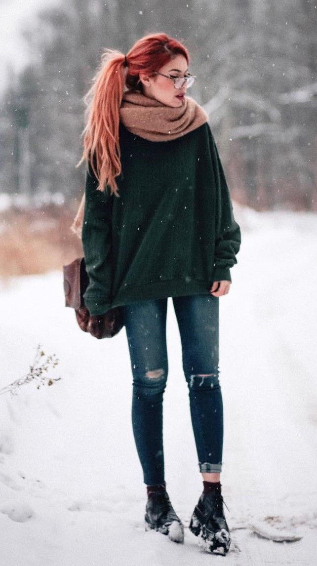 Best 34 Outfit Ideas for this Winter | Winter fashion ...