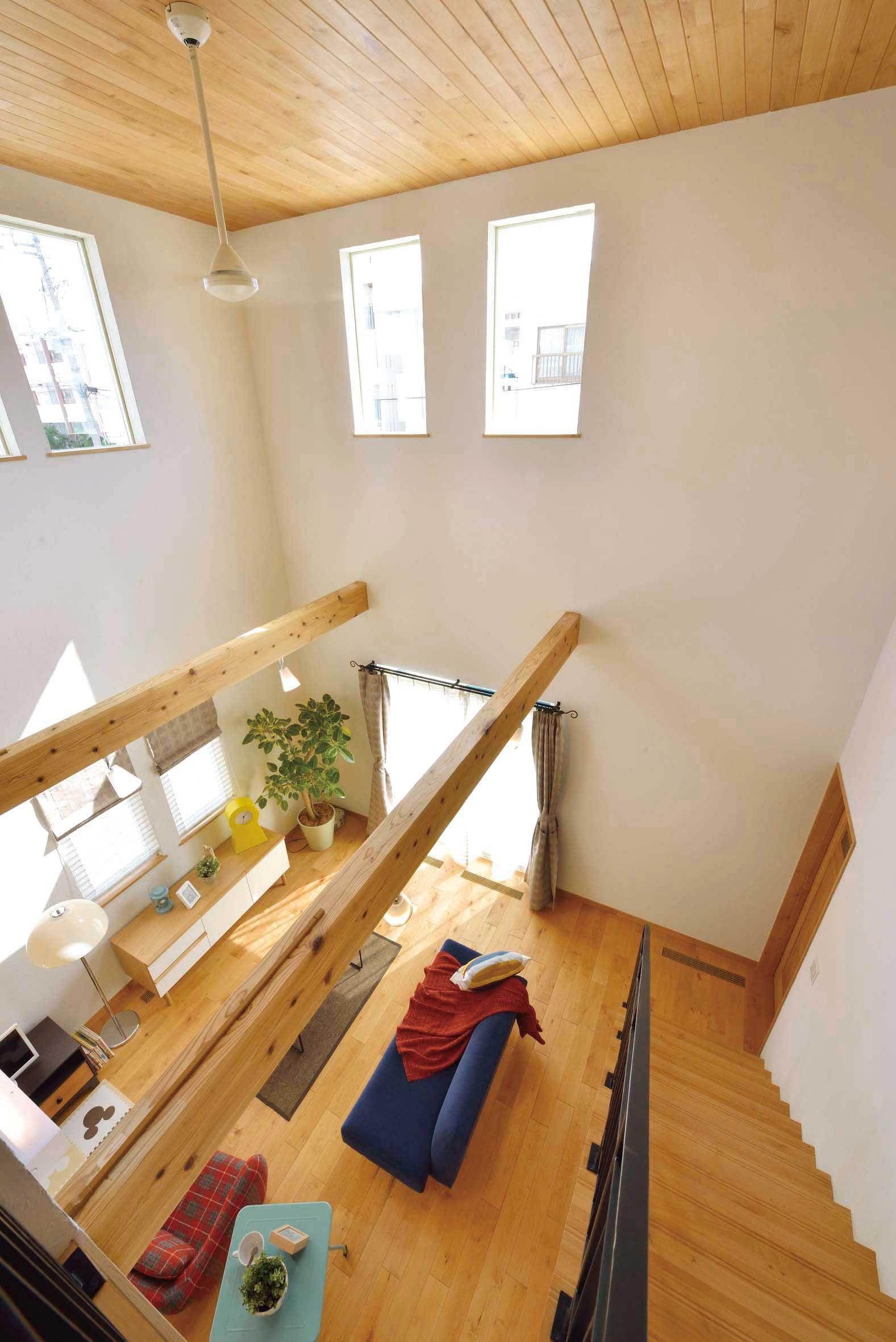 沖縄 家 オキナワ 住宅常設展示場 天井の高さがうらやましい 住宅