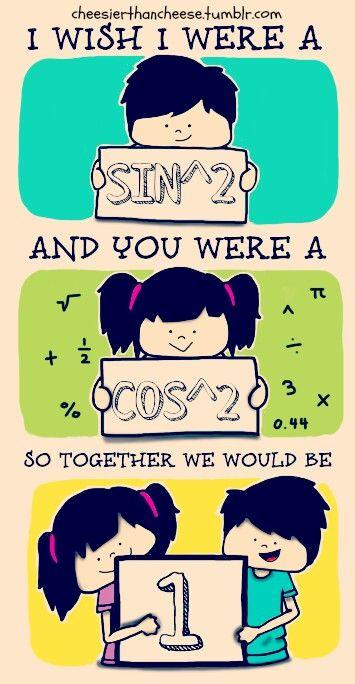 A Romantic Math Nerd Math Cartoons Math Geek Math Valentines