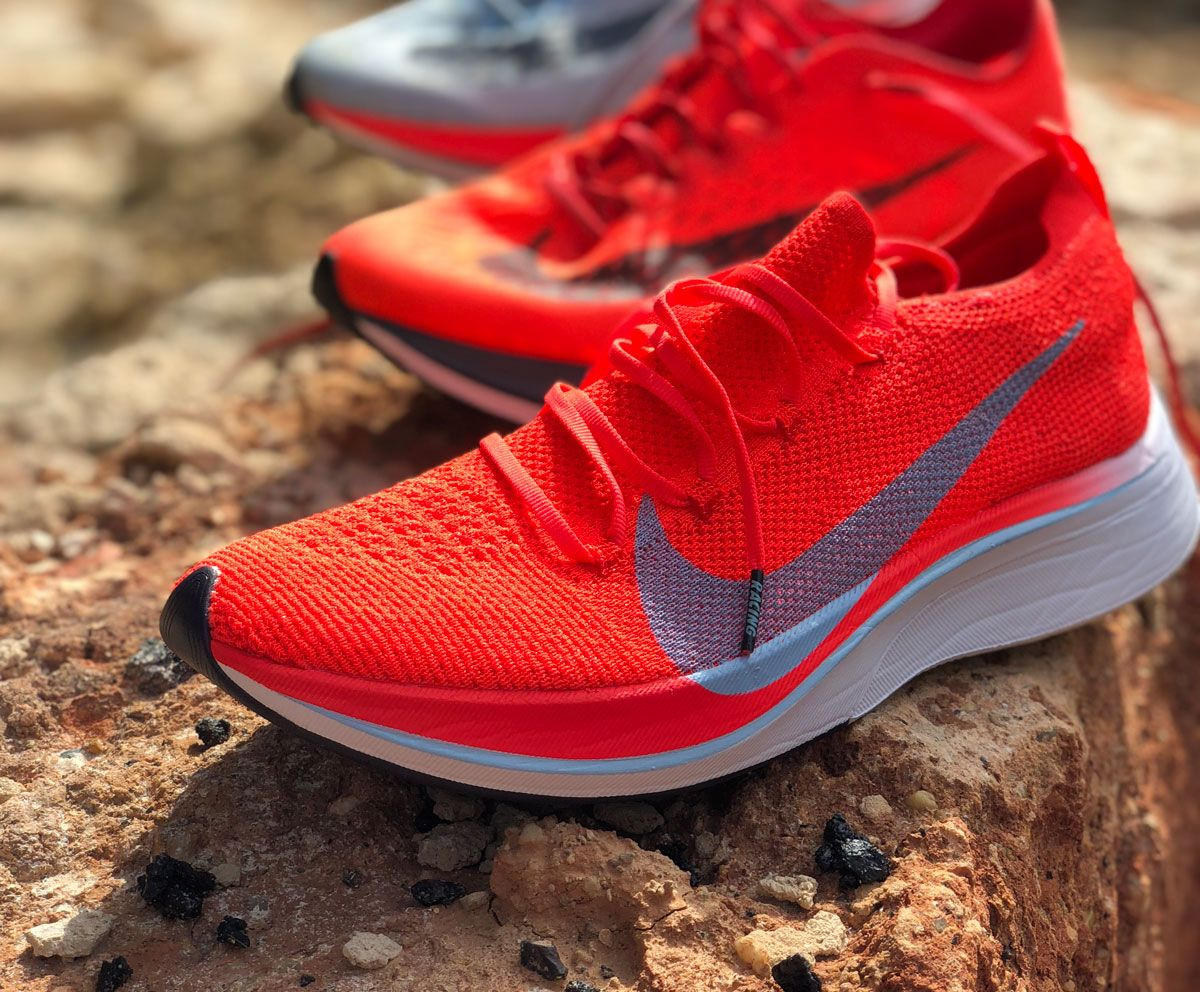 Nike Vaporfly 4% Flyknit after running