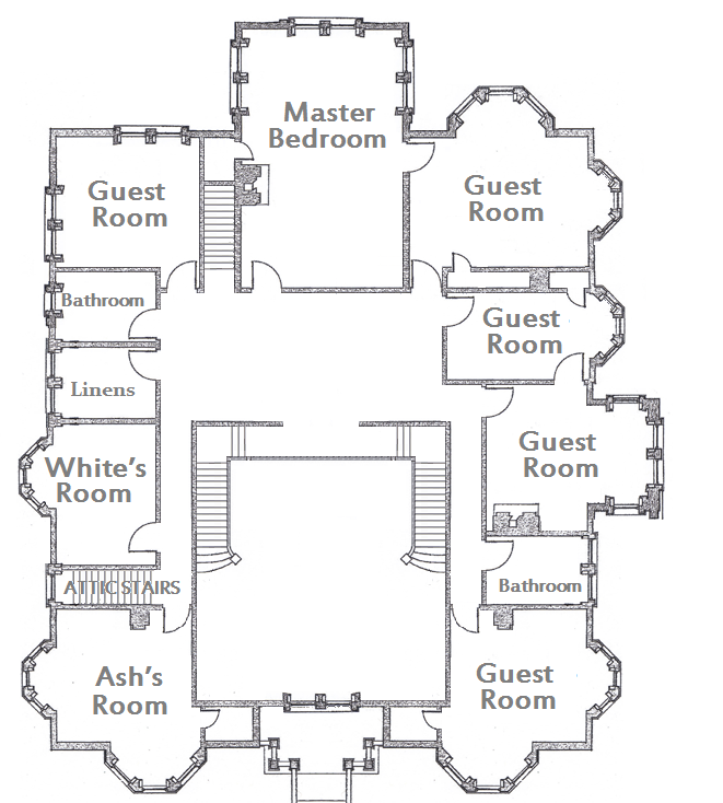 Theartofmurder Com Clue Second Floor English Country House Plans Mansion Floor Plan House Floor Plans