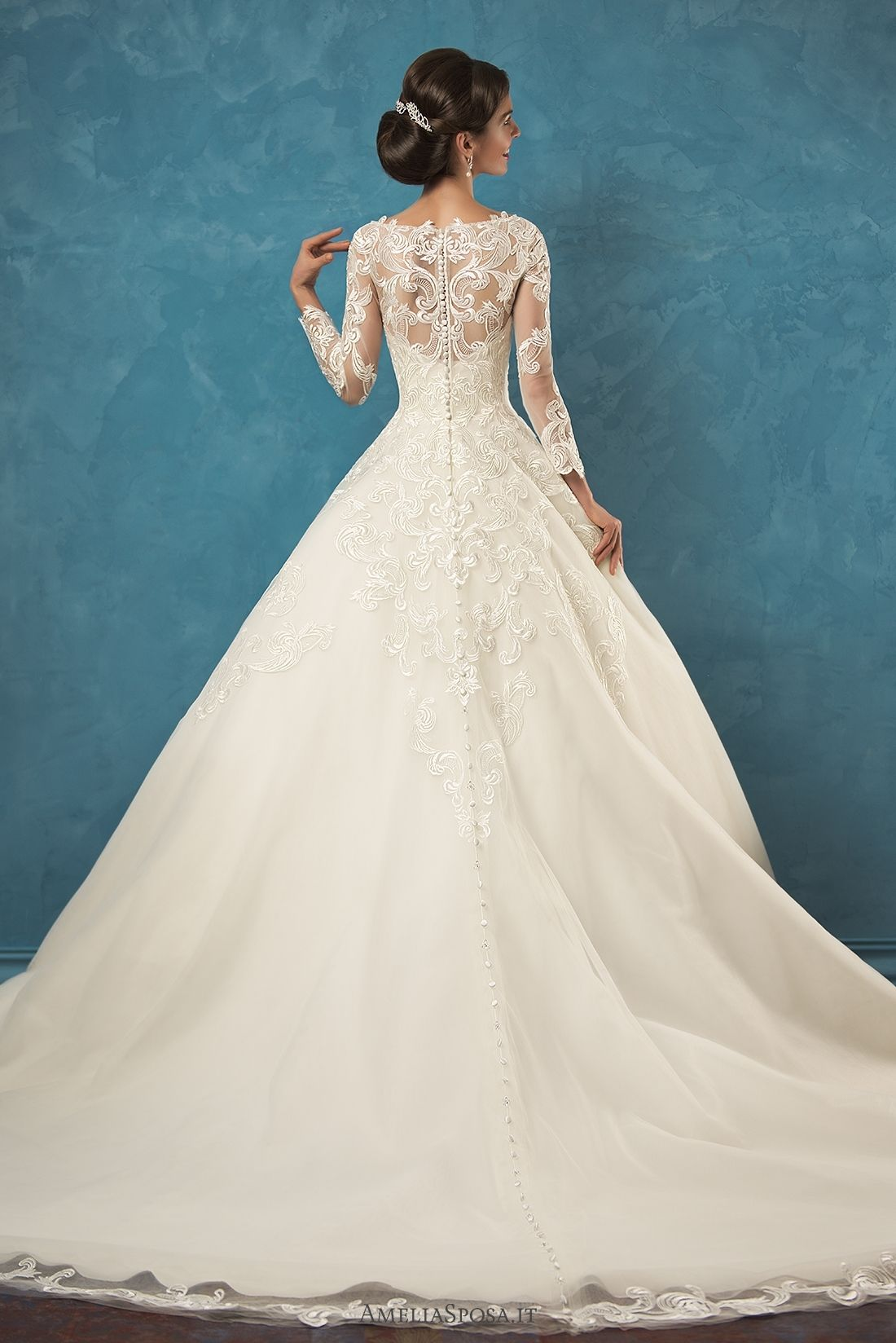 Wedding dress Alessia | Gelin koleksiyonua | Pinterest | Catalog ...