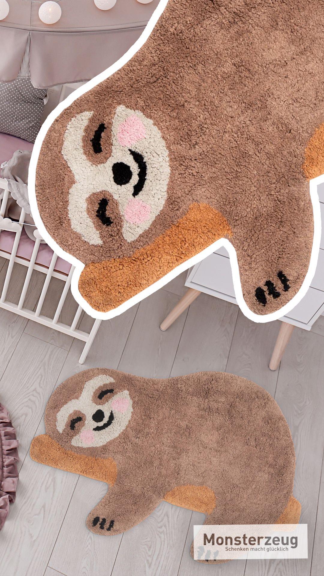 Faultier Teppich Aus Baumwolle Geschenke Zur Konfirmation Werdende Mutter Geschenk Konfirmationsgeschenk