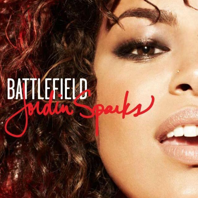 Jordin Sparks – Battlefield (single cover art)