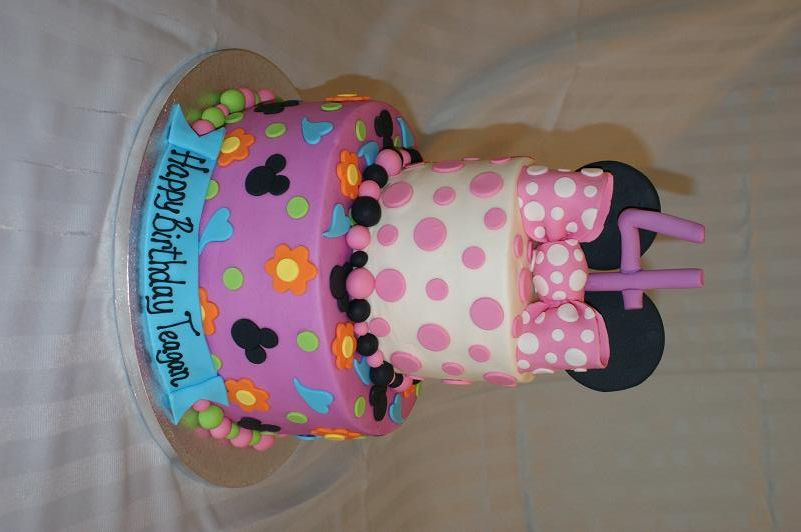 baby minnie mouse birthday cakes Cake Decorating Ideas Minnie