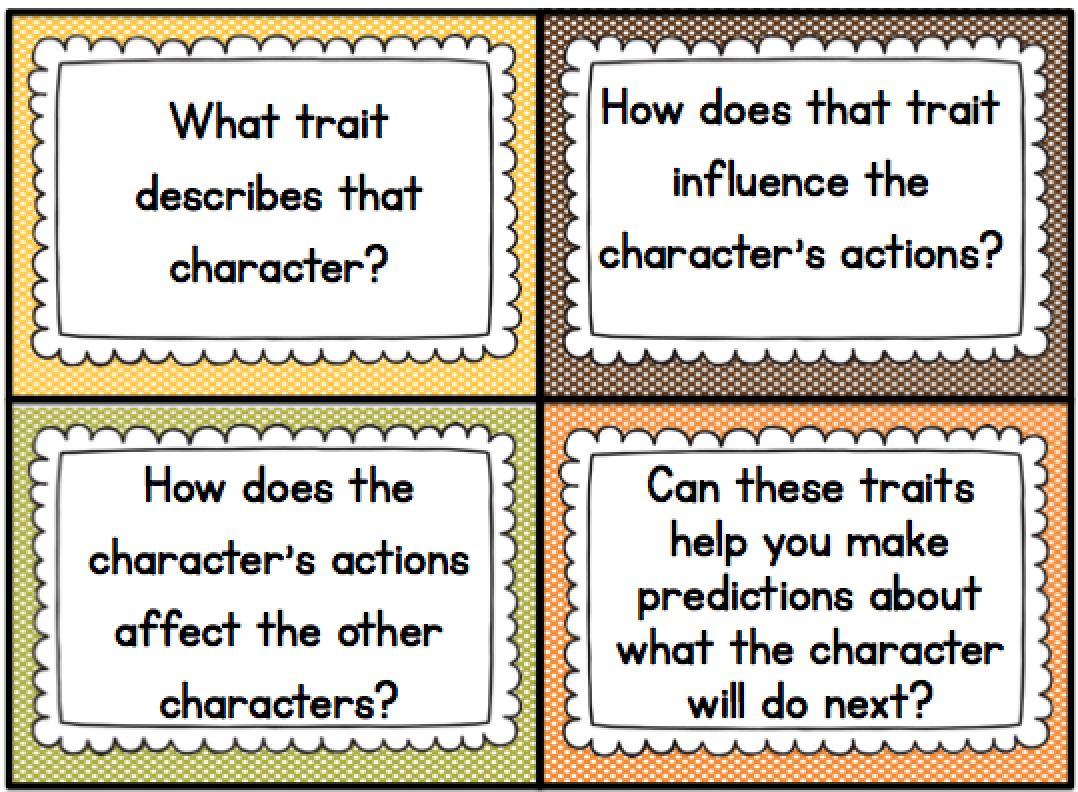 Teaching Characterysis In The Primary Grades