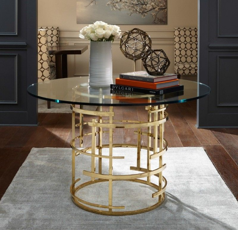 Glass Pedestal Table Brass And Glass Table Polished Brass Entryway Ideas  Unique Round Entryway Table Decorative Idea For Round Table Hard Rug Of  Favorite ...